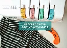 Resources for Sewing With Knits