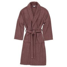 Linum Home Textiles Herringbone Bath Robe Size: Large / X-Large, Color: Sugar Plum