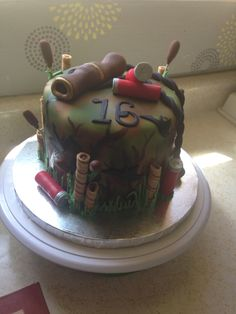 Duck Hunting Cake by Sugar Sweet Cakes Pinteres