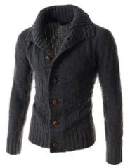 ::::Theleesshop:::: All mens slim & luxury items Frugal Male Fashion, Mens Fashion, Fashion Outfits, Men's Coats And Jackets, Gentleman Style, Mens Clothing Styles, Pulls, Knit Cardigan, Men Sweater