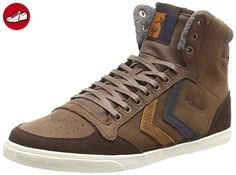 Slimmer Stadil Mono Oiled High, Sneakers Hautes Mixte Adulte, Gris (Frost Grey), 38 EUHummel