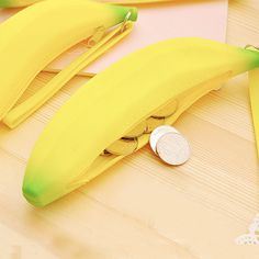 So-adorable Banana Pencil Bag 2pcs , 3% discount @ PatPat Mom Baby Shopping App
