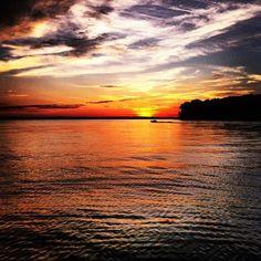 KY Lake Sunset. No place like home!