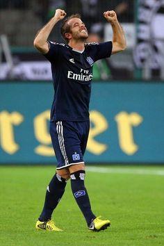 ~ Rafael van der Vaart of Hamburger SV ~