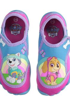 Josmo Kids Paw Patrol Aqua Sock (Toddler/Little Kid) (Hot Pink/Turquoise) Girls Shoes - Josmo Kids, Paw Patrol Aqua Sock (Toddler/Little Kid), CH3205HO-690, Footwear Closed Slipper, Slipper, Closed Footwear, Footwear, Shoes, Gift, - Street Fashion And Style Ideas