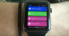 Workflow Hints At The Future Of The Watch As A Computing Platform – TechCrunch Apple Watch Apps, Platform, Watches, Ipad, Future, Iphone, Future Tense, Wristwatches, Clocks
