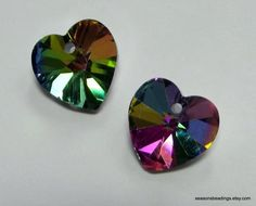 12 14mm Colourized Crystal Heart Pendants in the Supplies - Save on Shipping auction on @Tophatter http://tophatter.com/auctions/15846?campaign=all=internal