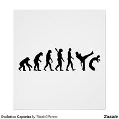 Evolution Capoeira Poster