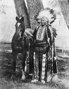 Chief Ignacio a chief of the Weeminuche band of the Ute tribe also called the Southern Utes, located in present-day Colorado. He led the band through many difficult years in the late nineteenth century, when they were being encroached on by European-American settlers. In January 1880, Chief Ignacio was part of the Ute delegation that traveled to Washington, DC to testify before the US Congress about the 1879 Meeker Massacre and the Ute uprising among the northern Utes on the White River