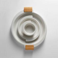 Spin kitchenware Design Marie-Louise Hellgren for Design House Stockholm White Dishes, Sideboard Cabinet, Scandinavian Kitchen, Kitchen Collection, Chair And Ottoman, Kitchenware, Modern Decor, Dinnerware, Home Goods