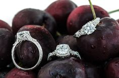 Currently obsessed with the Amavida collection of vintage inspired engagement rings only at Wedding Day Diamonds!