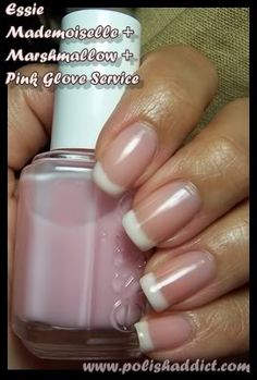 Traditional Essie French Manicure