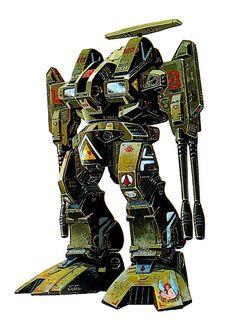 Macross, Destroid Defender, by takani yoshiyuki