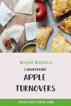 These easy to make Apple Turnovers are just 2 SmartPoints per serving on Weight Watchers Blue, Purple Freestyle plans. They are 3 SmartPoints on the Green plan. If you are looking for a low point WW dessert then you will love these! Weight Watchers Pasta, Weight Watcher Cookies, Weight Watchers Free, Weight Watchers Desserts, Ww Desserts, Dessert Recipes, Lunch Recipes, Diet Recipes, Sugar Free Pudding