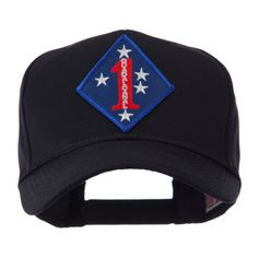 US Army Embroidered Military Patch Cap - 1st MC