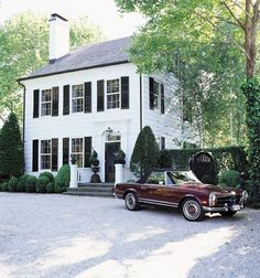Dream house + dream car