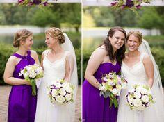 Bridesmaid Portraits individual with Bride - Shade Trees & Evergreens Wedding - Anna Kerns Photography