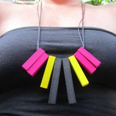 TFFs.... We missed out on a career opportunity.  pink yellow and black Cuisenaire timber maths rods by bbppdesigns, $30.00