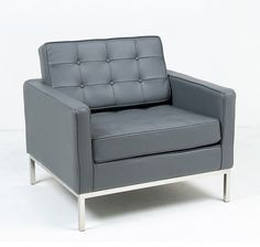Image for Modern Leather Lounge Chair