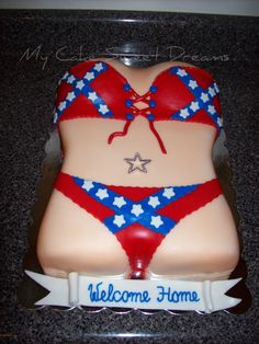 confederater flag cakes - Google Search