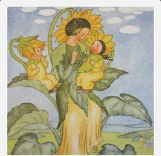 Sunflower momma
