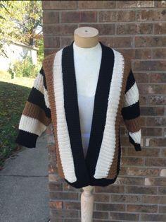 Fabulous vintage sweater / cardigan!