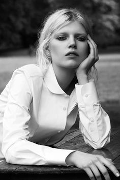 """Ola Rudnicka in """"I've Been Thinking About You"""" for Vamp Magazine #2, F/W 2014 Photographed by: Ward Ivan Rafik """""""