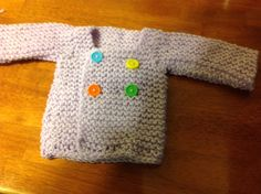 Smaller sweater for Katie Jean. This one should fit!