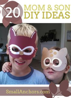 20 Mom and son DIY ideas to do together
