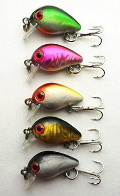 Hengjia 10pcs/lot Perch Bass Crappie Crankbait Fishing Lures Hard Baits Diving Depth:0.1-0.2m Hengjia http://www.amazon.com/dp/B00QG566FG/ref=cm_sw_r_pi_dp_ViEXub10NACB8