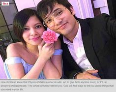 When Kean Cipriano and Chynna Ortaleza got married late last year, they kept it from the public even if they proudly posted their picture together on socia