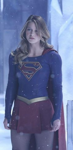 Mellissa B as Supergirl