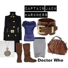 I cannot believe someone design a outfit around Dr Who.. who ever made this.. i adore you..
