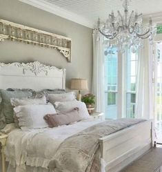 30 Chic Home Design Ideas - European interiors. The Best of shabby chic in - Home Decoration - Interior Design Ideas Farmhouse Master Bedroom, Home Bedroom, Bedroom Ideas, Bedroom Retreat, Bedroom Inspiration, Bedroom Designs, Budget Bedroom, Bedroom Styles, Girls Bedroom