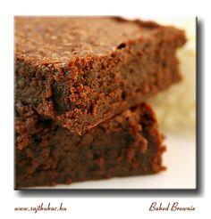 Az a híres-nevezetes Baked brownie