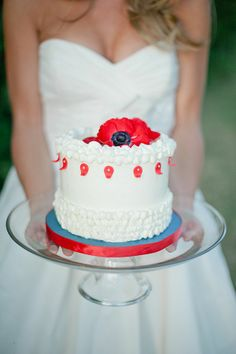 Red, White and Blue Wedding Ideas - memorialday40.jpg large
