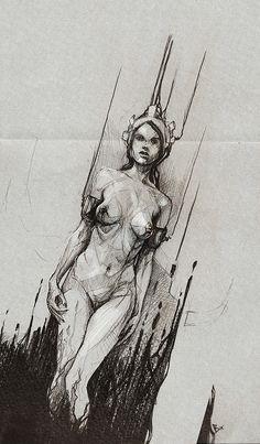 Quality Digital Art by Bastien Lecouffe Deharme #Illustration