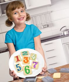 Look at this Letterpress Number Cookie Cutter Set on #zulily today!