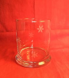 Snowflake candleholder by Anna Dewell Designs