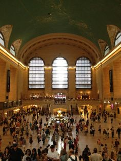 Grand Central Station, NYC - The setting for Season 2, Episode 1 of The Traveling Story by Claudia Gray!