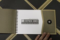 Self Promotional Piece by Stephen Jones, via Behance