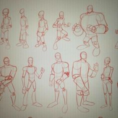 Anatomy Drawing Tutorial The studies continue.these are based off drawings Figure Drawing Models, Human Figure Drawing, Figure Drawing Reference, Guy Drawing, Drawing Skills, Drawing Poses, Art Reference Poses, Character Drawing, Drawing Practice