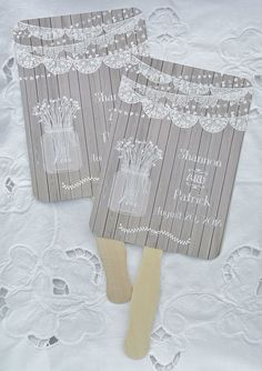 Personalized Hand Fans Country Wedding, Rustic Wedding Ideas, Wedding Fans,  by abbey and izzie designs