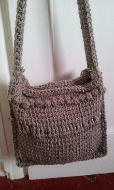 Tunisian crochet bag no. 3