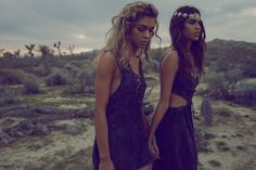 When it comes to music festival season there can never be too much inspiration. And with Planet Blue's latest lookbook, there are plenty of looks that can be rocked at Coachella. Serving bohemian vibes to the max, the fashion shoot starring models Juliana Herz and Yvonne Logan has ensembles perfect for those desert days. Photographed …