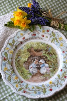 Brambly Hedge China: The Charm of Home Beatrix Potter, Susan Wheeler, Brambly Hedge, Pet Mice, China Plates, China Patterns, Strawberries And Cream, Royal Doulton, Serving Dishes