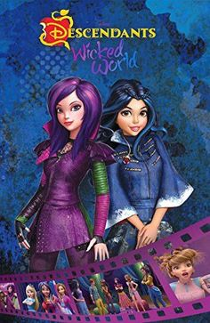 Disney Descendants Wicked World Wish Granted Cinestory Comic Volume 1