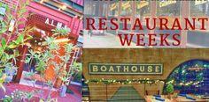 Mid-Atlantic Winter Restaurant Weeks: Washington DC, Baltimore, New York and more