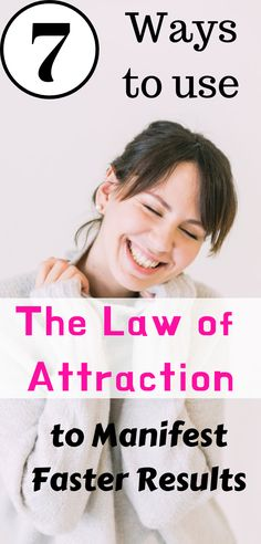 Discover 7 Ways to Use The Law of Attraction to Manifest Faster Results | manifestation | law of attraction manifestation | manifestation law of attraction #manifestation #lawofattraction #selfgrowth