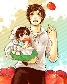 Boss Spain and Chibi Romano is the best part of Hetalia.